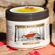 Vermont maple cream