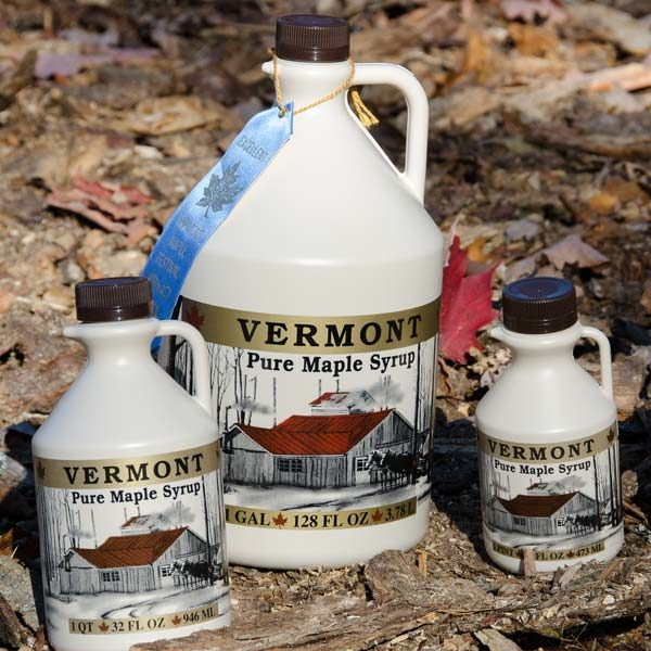 100% Vermont maple syrup