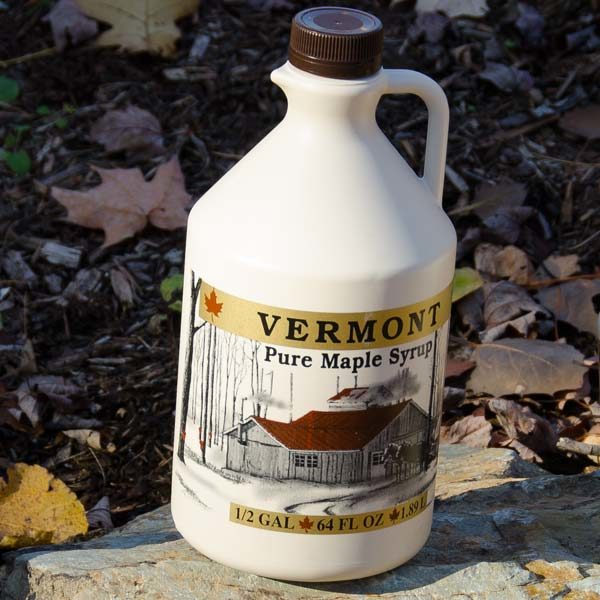 Half gallon of Sugartree maple syrup